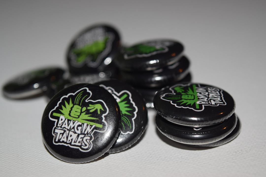 Bangin Tables Pins