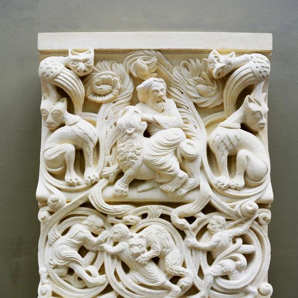 Samson, 2018, limestone