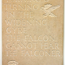 'The Second Coming' WB Yeats Inscription