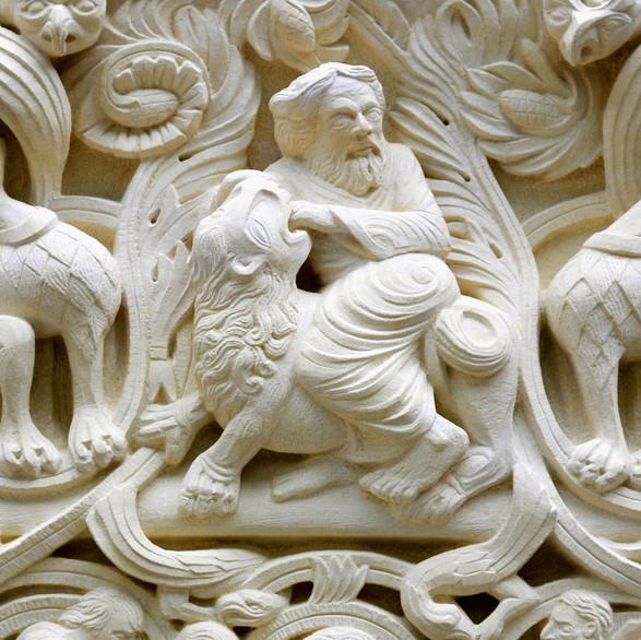 Samson (detail)