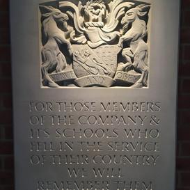 Haberdashers WW1 Memorial