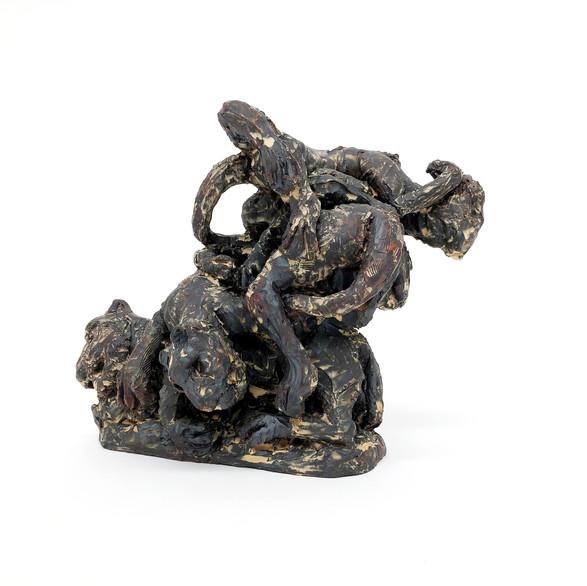 Shikar, 2019, Stoneware, iron oxide, slip