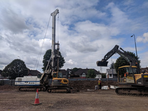 Piling London Soilmec Drilling