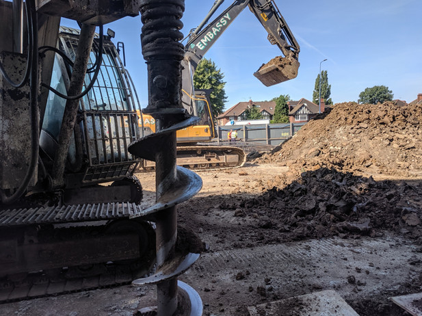 London Piling Rotary Soilmec Auger With Digger