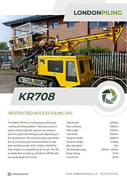 Klemm 708 Specification Sheet Thumbnail