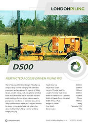 D500 Specification Sheet Thumbnail