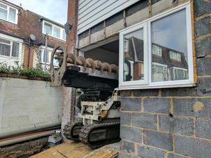 Piling Contractors London House Access