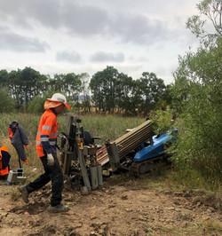 Rail horizontal drilling 2