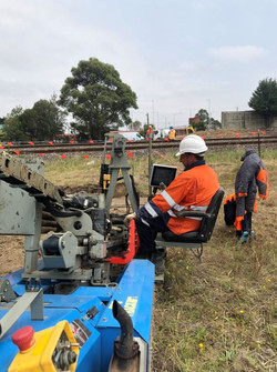 Rail horizontal drilling 3