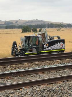 Rail horizontal drilling 1