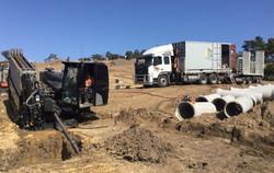 Underboring Sewer 1