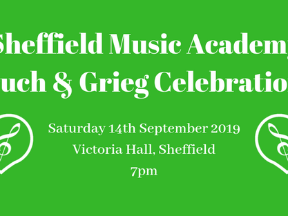 Bruch and Grieg Celebrations with SMA!