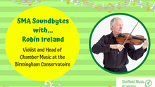 SMA Soundbytes with... Robin Ireland