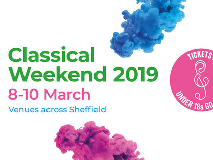 Triple SMA Treat at Classical Sheffield Festival 2019