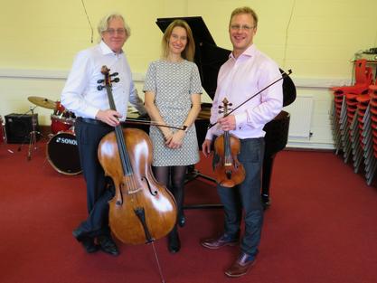 SMA Welcomes Oakham Piano Trio to Sheffield