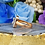 Thumbnail: Solid Emerald Cut Setting Diamond Cocktail Ring