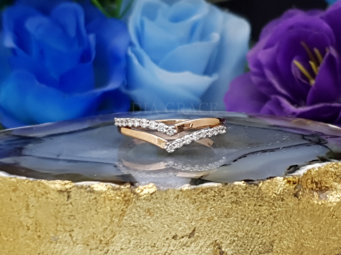 Victorian Casual Diamond Ring For Women
