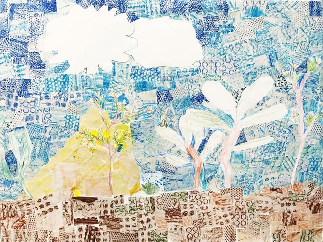Fantasy Landscape Collage