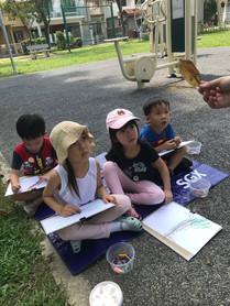 Outdoor Sketching Class