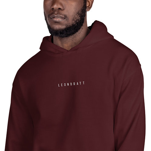 Embroidered Hoodie (White Text)