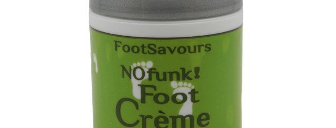FootSavours FootCrème Jar