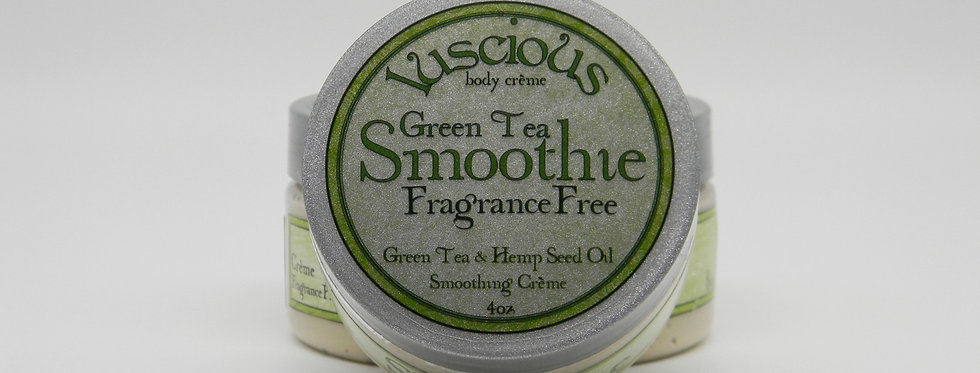 GreenTea Smoothie Body Crème - Fragrance Free