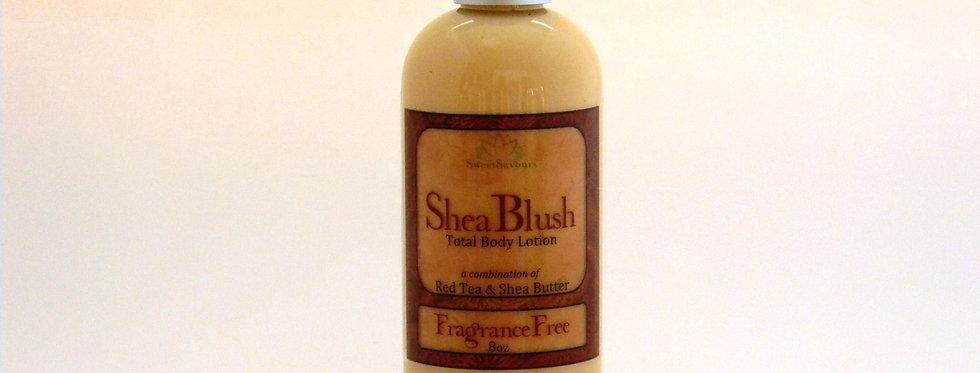 SheaBlush Body Lotion - Fragrance Free