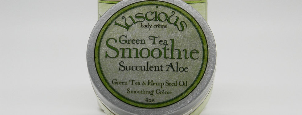 GreenTea Smoothie Body Crème - Succulent Aloe