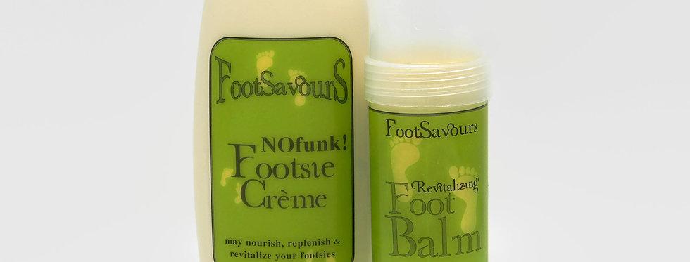 FootSavours Crème & Balm Set