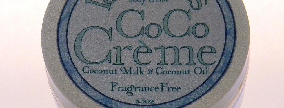 CoCoCrème Body Crème - Fragrance Free
