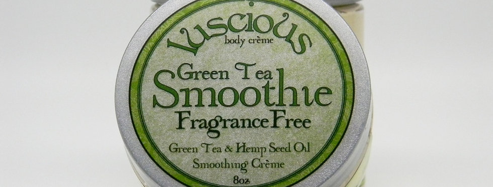 GreenTea Smoothie Body Crème - Fragrance Free