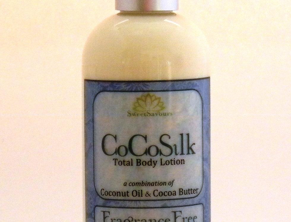 CoCoSilk Body Lotion - Fragrance Free