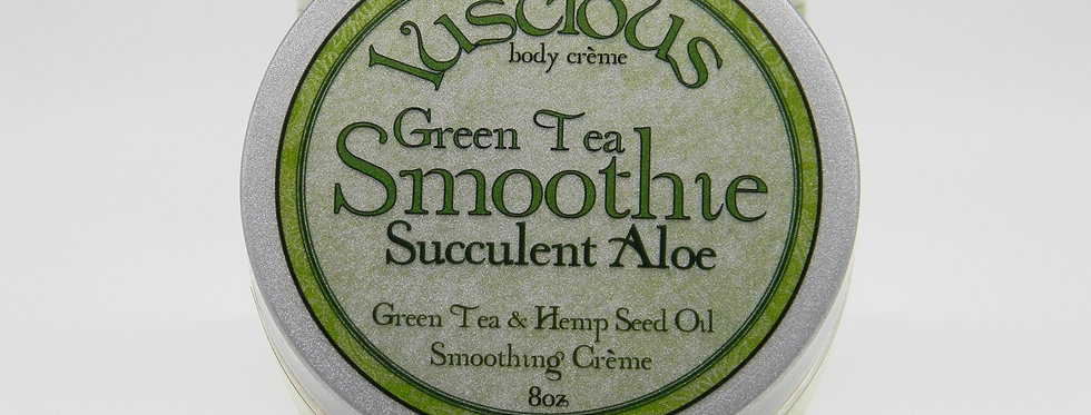 GreenTea Smoothie Body Crème - Succulent Aloe