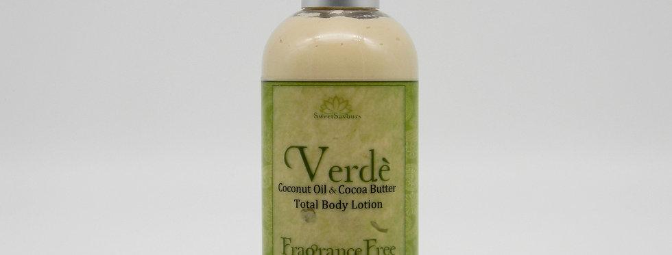 Verdè Total Body Lotion - Fragrance Free