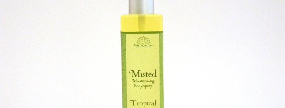Misted Tropical Gardenia Moisturizing Body Spray