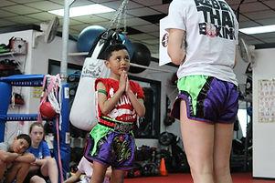 Kids Muay Thai Kickboxing Long Island