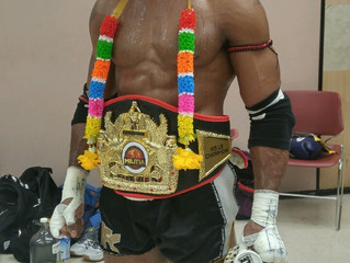 Rod Williams Becomes Rebel Thaiboxing's Newest Champion!