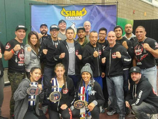 Rebel Thaiboxing at the US Muay Thai Open!