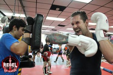 Muay Thai Long Island Kids Kickboxing Martial Arts School gyms Rebel