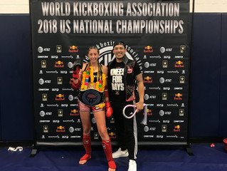 Annika Kahl Becomes the New WKA 122lbs Female Open Class Champion!