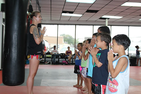 Kids Muay Thai Kids kickboxing