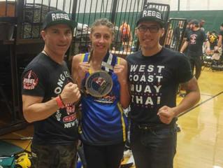 Annika Kahl Wins The 119lbs Junior Muay Thai USMTO Championship!