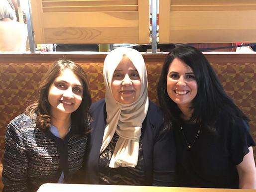 Meeting with 'Aunty' Yusra Qazzaz