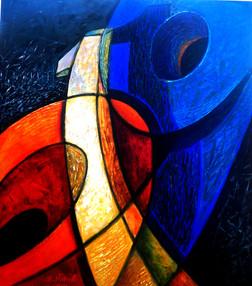 Zamanda Kesişim-01, 2012, T.Ü.K.T., ? X ? cm
