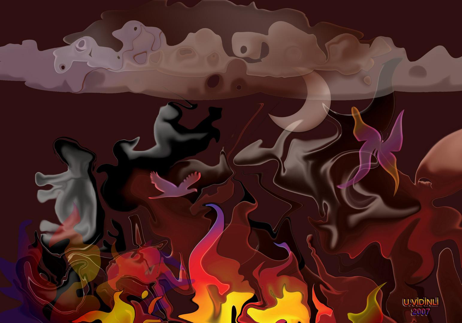 Büyüklere Masallar-1 , 2007,Digital, 100 X 70 cm