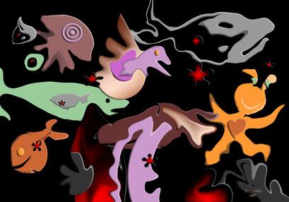 Büyüklere Masallar-? , 2007,Digital, 100 X 70 cm