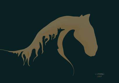 At başı, 2006,Digital, 100 X 70 cm