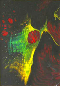 Çekirge , 1999, MDF, 30 X 25 cm