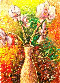Orkideler, 2011, KÜY, 70X50 cm