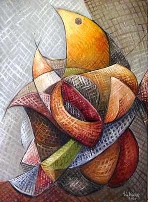 Dejenerasyon, 2005, TÜY, 75 X 55 cm